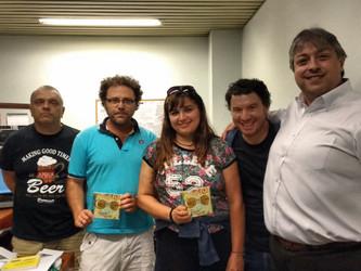 Angélica Rizzi participa do programa El Mural na Radio Uruguay