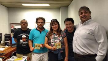 Angélica Rizzi participa do programa El Mural na Radio Uruguay - Domingo às 9 horas