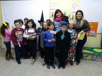 Angélica Rizzi participou da Pré-Feira do Livro de Gramado