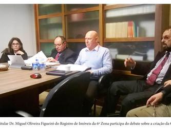 Registrador Figueiró participa de reunião sobre a CRI-RS