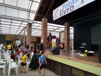 Angélica Rizzi participou da 32ª Feira do Livro de Osório