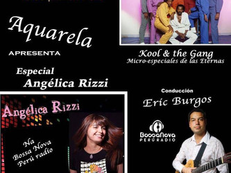Angélica Rizzi é artista da semana na Bossa Nova Perú Radio