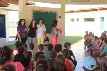 Hora do Conto na Escola EMEF Profº. Moacyr de Araujo Pires