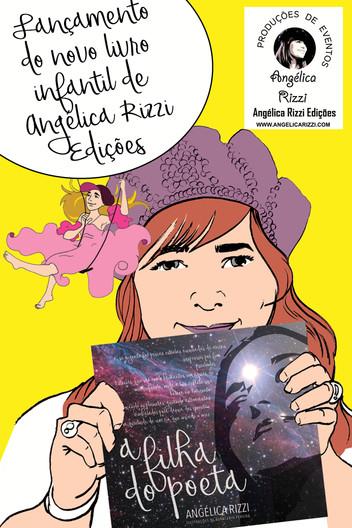 Angélica Rizzi participa da II Feira do Livro da Escola Jardim Outeiral nesta sexta 20 de outubro