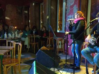 Audio da canja musical de Angélica Rizzi no Sarau Elétrico do dia 23/05/17