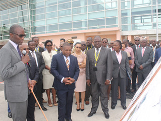 Inauguradas áreas de manobra modernizadas do Aeroporto Internacional de Maputo