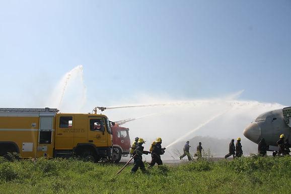 Aeroporto de Maputo faz simulação de emergência total