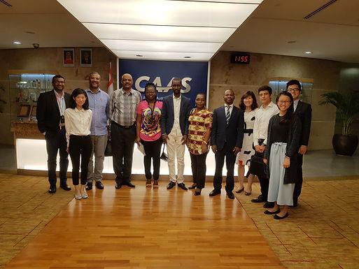 Colaboradores do ADM, E.P. trocam experiência em Singapura