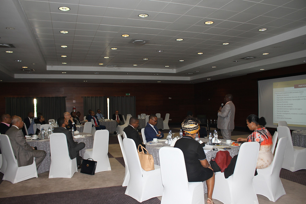 Apresentação do projecto para 1ª Conferencia Internacional sobre Transporte Aéreo