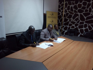 Assinatura de Memorando de Entendimento entre Laboratório de Engenharia de Moçambique e a Empresa Ae