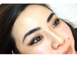 Microblading Eyebrows After One Retouch