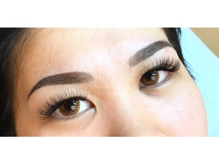 Powder Ombre/Microblading Combination Eyebrows!