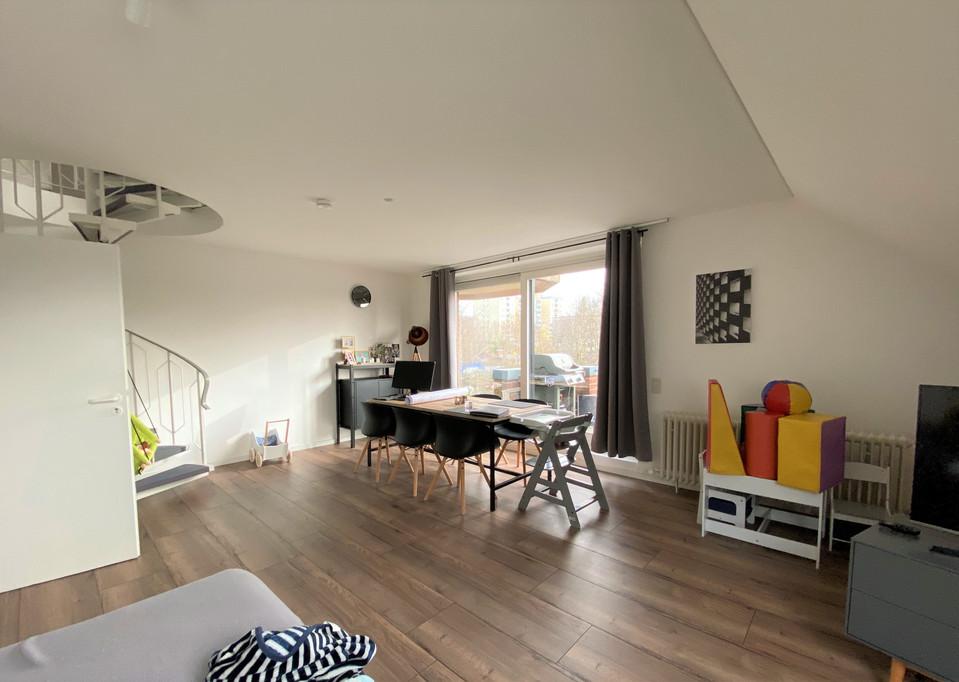 3-Zimmer-Maisonette-Wohnung inklusive Balkon in Campus-Nähe I Aachen-Hörn