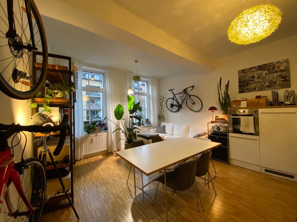 Freundliche & lichtdurchflutete 2-Zimmer-Wohnung inkl. Balkon in zentraler Innenstadtlage I Aachen-Zentrum