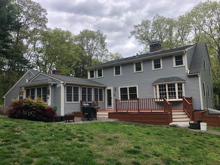 Exterior Painting and General Carpentry Project in Sherborn, MA