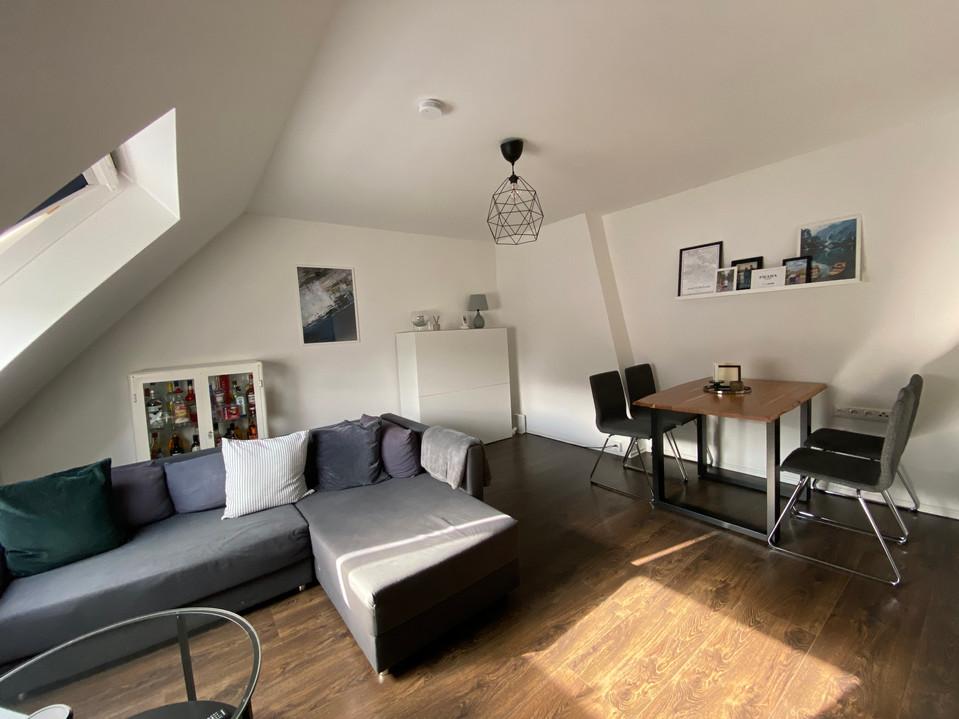 Attraktive 3-Zimmer-Dachgeschosswohnung angrenzend zum Aachener Beverbach I Aachen-Beverau