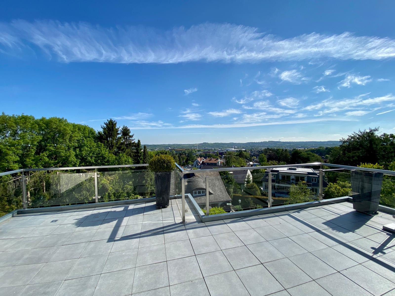 Penthausähnliche Maisonette-Wohnung mit Panoramablick über Aachen-Soers    Aachen-Lousberg