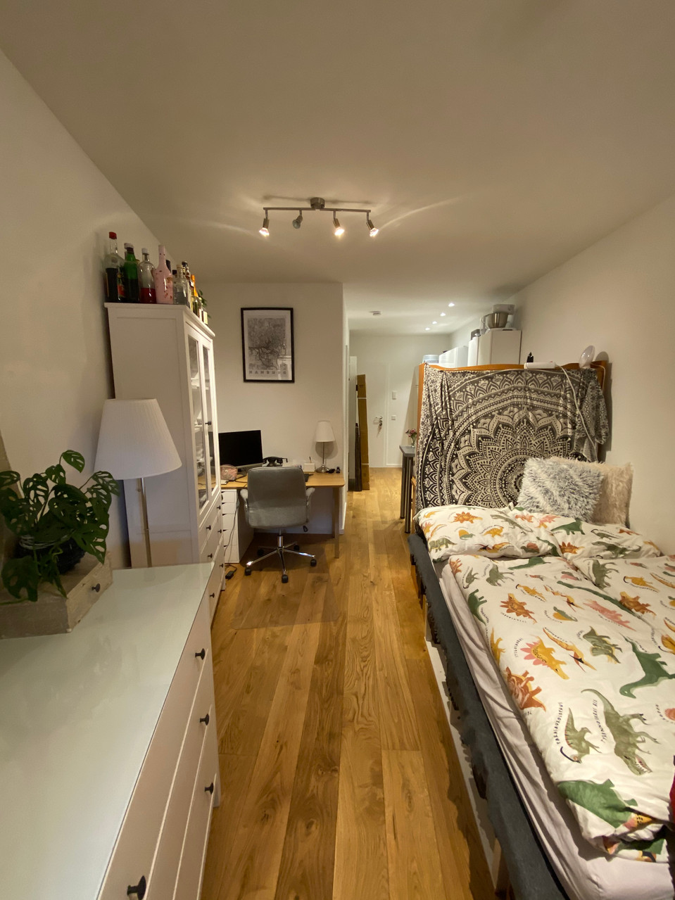 Hochwertige 1-Zimmer-Wohnung in denkmalgeschütztem Mehrfamilienhaus I Aachen-Lousberg