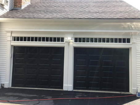 Wood Clapboard Siding Painting in Natick, MA