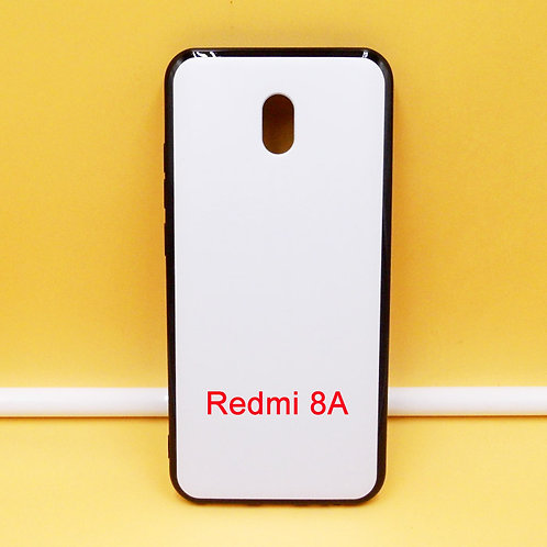 Xiaomi Redmi 8A soft tpu phone case with printable back for custom printing