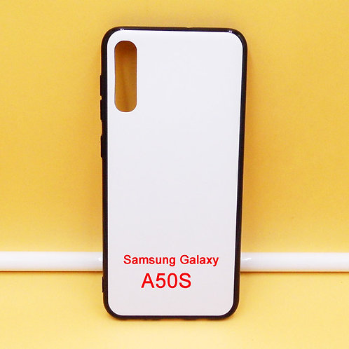 Galaxy A50S blank soft phone case,with white back for diy printing