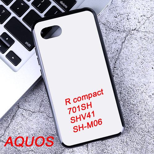 Printable soft phone case for AQUOS R compact / 701SH / SHV41 / SH-M06