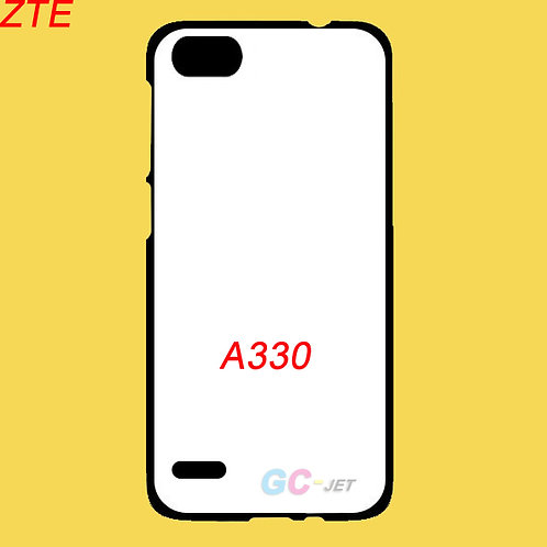 ZTE A330 tpu soft phone cover with white printable back