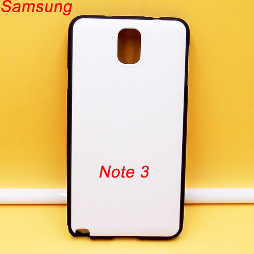Galaxy Note 3 blank black tpu soft phone case for diy picture printing