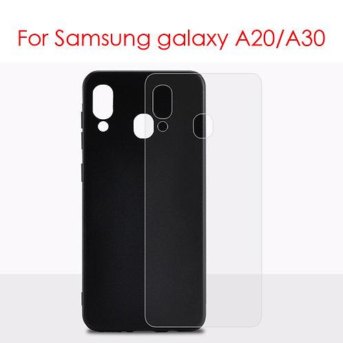 UV printer printable tempereed glass phone case for Samsung galaxy A20 / A30
