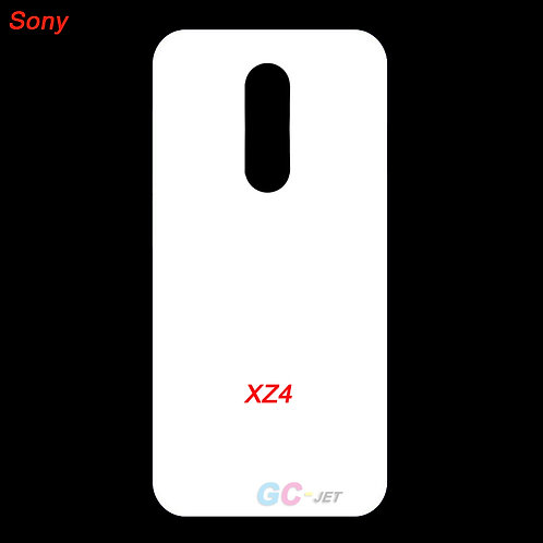 Sony xperia XZ4 mobile case with white coated back for printing