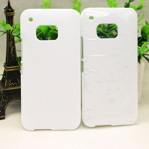 HTC ONE M9 blank 3d sublimation pc white cover case for photo transfer