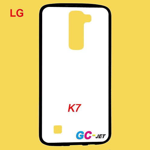 LG K7 printable back tpu soft phone case for printers