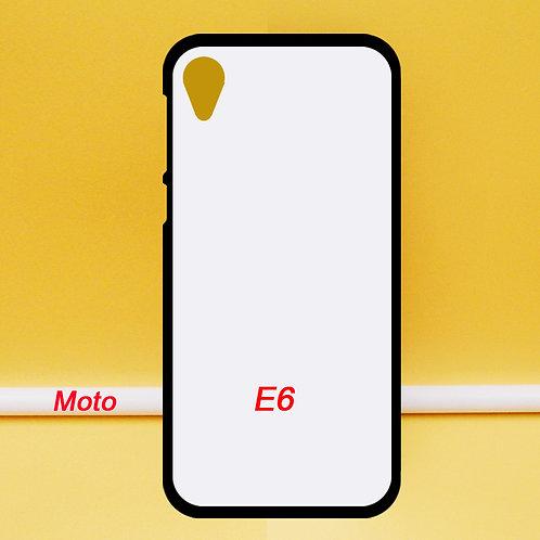 Soft blank printable mobile phone case for Moto E6