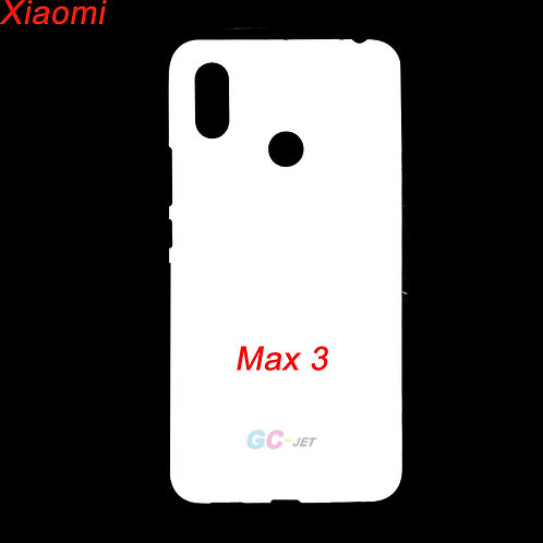 Xiaomi Max3 printable phone cover for printing picture