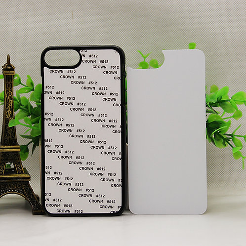 iPhone 7 plus blank cell phone case for 3d sublimation heating