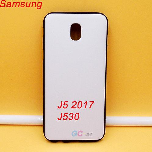 Galaxy J5 2017 / J5 Pro / J530 blank black printable tpu soft phone case