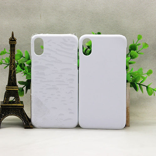 iPhone X blank 3d sublimation cover cases