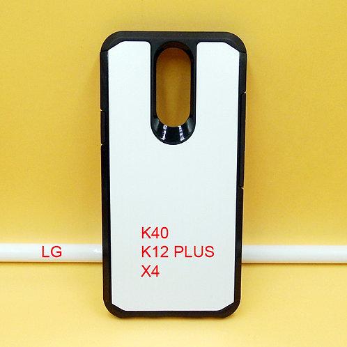 LG K40 / K12 PLUS / X4 slim armor cell phone case for printers to print