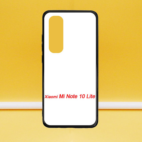 For Xiaomi Mi Note 10 Lite printable blank soft mobile phone case