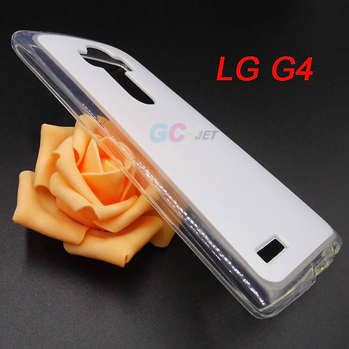 LG G4 blank clear transparent tpu phone case for printing