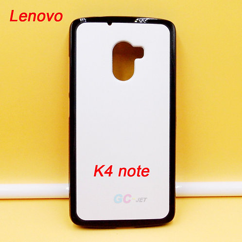 Lenovo k4 note tpu phone case printable black with white coating