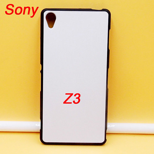 Sony xperia Z3 blank printable coated tpu flexible phone case