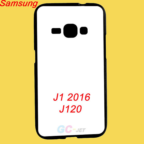 Samsung J1 2016 black edge tpu soft phone cover for printing image