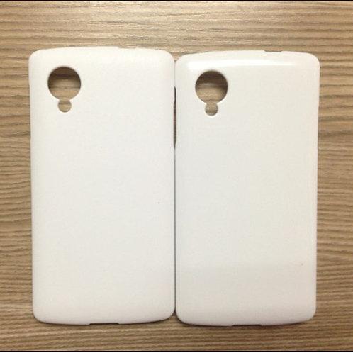 Google nexus 5 blank 3d sublimation mobile phone cover case