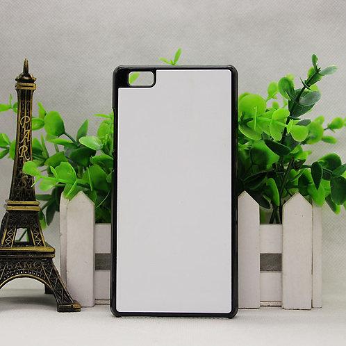 Huawei P8 lite blank phone case with white aluminium sublimation sheet