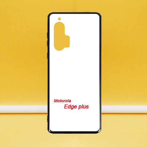 For Motorola Edge plus blank printable soft phone case