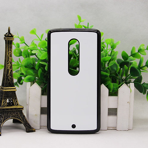 Moto X Play blank 3D sublimation phone case for heat transfer picture