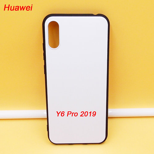 Huawei Y6 Pro 2019 blank tpu soft phone cases for printing