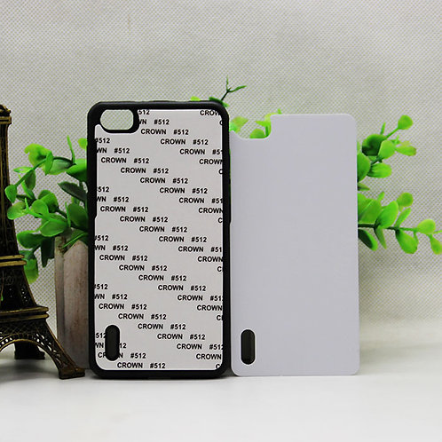 Huawei honor 6 tpu phone case + blank aluminium sheet for heating transfer photo