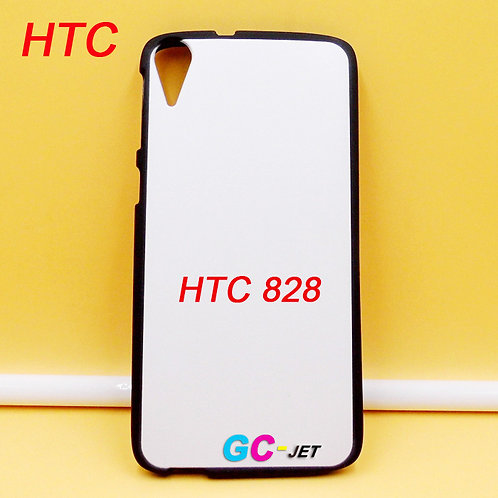Blank black printable soft tpu cell phone case for HTC 828